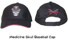 Baseball Cap Medicine Skull, Medical