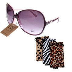DG EYEWEAR Women's VINTAGE Celebrity Style Designer Oversized Sunglasses With Pouch PURPLE by DG Eyewear. $5.50. Primarily designed for ladies, DG Sunglasses is now one of the hottest brands in the designer sunglasses industry. They are sold in over 100 countries worldwide. These trendy sunglasses features styles and make a fashion statement.. Save 72% Off!