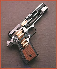 Colt Arms 1911 .45 ACP cutaway. A study in mechanical precision and eloquence. A perfect vocabulary for the preservation of Freedom.