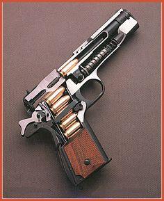 Colt Arms 1911 .45 ACP cutaway. #pistol #inside #parts #1911 #colt