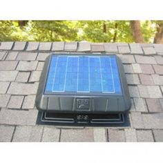Attics get hot and cause air conditioners to work less efficiently. Your solution? A solar powered attic fan! Just install it and let the sun do all the work pushing all that hot air out where it belongs.