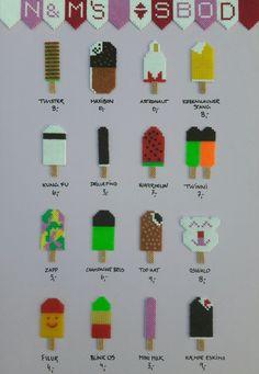 Easy Perler Bead Patterns, Perler Bead Art, Fuse Beads, Pearler Beads, Hama Mini, Hama Beads Design, Iron Beads, Beaded Cross Stitch, Tapestry Crochet