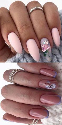 Diy Nail Designs, Colorful Nail Designs, Acrylic Nail Designs, Cute Acrylic Nails, Cute Nails, Pretty Nails, Nail Art Hacks, Nail Art Diy, Elegant Nail Art