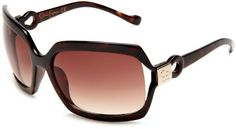 Jessica Simpson Women's J464 TS Rectangular Sunglasses,Tortoise Frame/Gradient Brown Lens,one size Jessica Simpson. $45.00