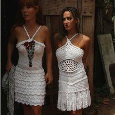 WEBSTA @ vanessamontoro -  White Dresses ❇❤ #VanessaMontoroStyle #VanessaMontorosFairytale #VanessaMontoroSummer #Timeless #Crochet #HandMade #MadeinBrazil #FeitonoBrasil #PositiveFashion #SlowFashion #FeitoporPessoas