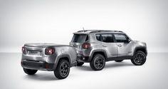 Jeep Renegade Hard Steel, con remolque a juego - http://www.actualidadmotor.com/jeep-renegade-hard-steel-con-remolque-a-juego/