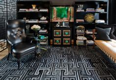 Private Residence, Nyc - Rug designed by Ryan Brewer, Kyle Bunting