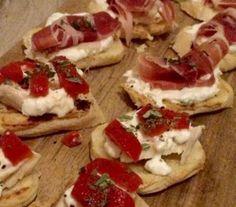 Bruschetta met kip en ricotta – Sport Foodblog