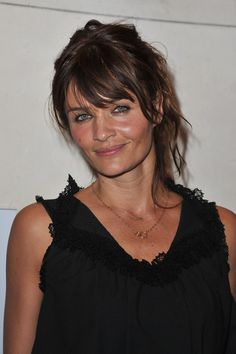 Helena Christensen Photos: Helena Christensen Visits Musee des Arts Deco
