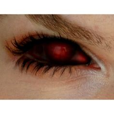 crossroad demon eye ♥ ❤ liked on Polyvore featuring beauty products, makeup, eye makeup, eyes and supernatural