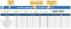 Download the practice file for Inventory Management Template for Store