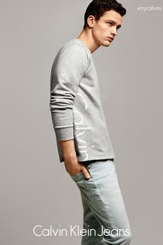 49b4a3360af Calvin Klein Jeans Campaign - HarpersBAZAAR.com Kendall Jenner Calvin Klein