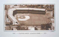 League Park, Cleveland, Ohio by Jim Ptacek