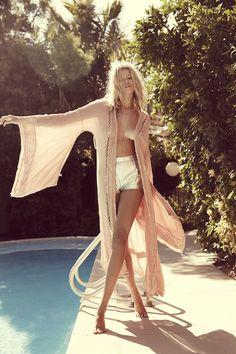 Jen's Pirate Booty // Model Hailey Clauson for Spring 2016 Collection Hailey Clauson, Ideas Para Photoshoot, Foto Fashion, Ibiza Style Fashion, Gypsy Fashion, Beach Fashion, Fashion Kids, Fashion Women, Mode Boho