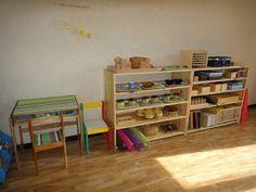 montessori set up