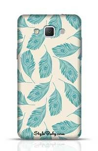 Peacock Feathers Samsung Galaxy A5 Phone Case