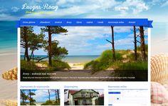 Projekt strony internetowej www.lucyna-rowy.pl