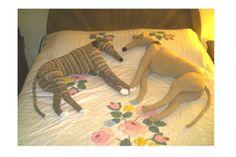 Life Size Greyhound PDF Crochet Pattern Instant Digital Download. $6.00, via Etsy.