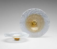 Art Glass   Shalamar Art Glass Plate   Large