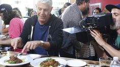 Everywhere Anthony Bourdain Eats in San Francisco 'Parts Unknown' - Eater SF.  Michael wants to try 4505 Burgers & BBQ.   What they ate: Beer, the Presidential Platter (brisket, smoked chicken, jalapeño & cheddar hot link sausage, pork shoulder, pork spare ribs, cole slaw, posole, baked beans, potato salad, french fries, frankaroni, spicy fries, chicharrones)