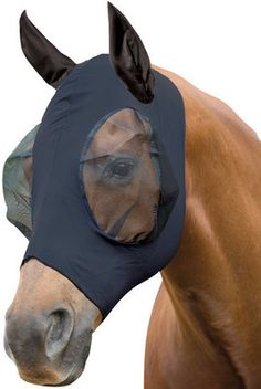 """Check out """"Jeffers Equine : Roma Stretch Horse Fly Mask with Ears and Mesh"""" from Jeffers Pet"""