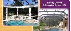 Sunrooms, Florida Rooms, and Screen Porch Design and Construction in Tampa, Clearwater, St. Petersburg and Pasco County, Florida
