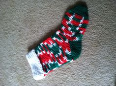 Another stocking I crocheted