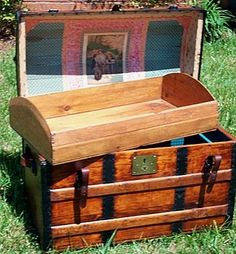 This Old Trunk - Quality Antique Trunks, Restoration, Antique Trunks, Chests and Fine Antique Trunks and More.