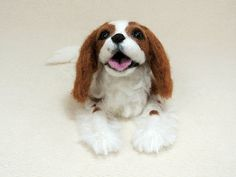 Needle Felted Dog / Custom Miniature Sculpture of your by HiMeg, $135.00