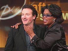Bono on the Oprah Winfrey Show, Chicago, Illinois (September 20, 2002) #u2newsactualite #u2newsactualitepinterest #bono #theedge #larrymullen #adamclayton #u2 #music #rock U2Station.com