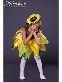 Детские карнавальные костюмы ручной работы. Ярмарка Мастеров - ручная работа. Купить карнавальный костюм подсолнуха-63. Handmade. Желтый