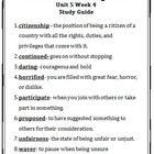 Wonders~Unit+5+Week+5+~Vocabulary+Study+Guide...