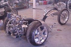 Custom VW Trikes | CCtrikes & Custom Bikes