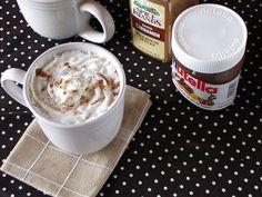 Cinnamon-Nutella Hot Cocoa