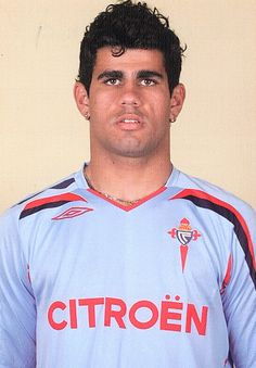 Diego Costa playing for Celta de Vigo