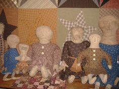 homespun dolls