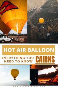 A detailed guide outlining everything you need to know about the Hot Air Balloon Cairns experience. Experience the world's oldest form of aviation in Tropical North Queensland. Cairns, Hot Air Balloon, Need To Know, Balloons, Evergreen, Everything, Travel Tips, Aviation, Will You Go