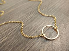 Items similar to Gold karma necklace - dainty gold necklace - delicate gold necklace - simple gold jewelry - minimalist necklace - gold circle necklace on Etsy Gold Circle Necklace, Delicate Gold Necklace, Gold Jewelry Simple, Simple Necklace, Minimalist Necklace, Minimalist Jewelry, Pandora Charms, Karma, Gifts For Women