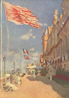 Claude Monet - Hôtel des Roches Noires