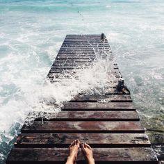 Missing the sea (en Cala des Mort)