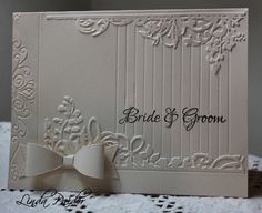 CAS205 Wedding by Holstein - Cards and Paper Crafts at Splitcoaststampers