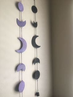 Moon Phases☽ ✩ Season of the Witch ☾☾ Perfect for Halloween :: Save 25% off all orders with code PINTERESTXO at checkout | Black & Lavender Wall Hangings Bohemian Bedroom + Home Decor | Mandala Tapestries & Twilights Decor by Lady Scorpio | Shop Now LadyScorpio101.com | @LadyScorpio101