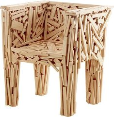 Chair designed by Campana Brothers - #chairideas #chair #chairdesign #designideas #chairs