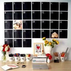 wow!  calender black board...  heart frame...  N monogram mugs....    october • 2010 by miss vu, via Flickr