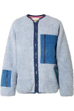 Sherpa Natural Sheep Woolen Fleece Lined Knitted Jacket Jumper Cardigan Hoodie
