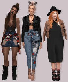 Texas Lookbook for The Sims 4