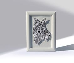 The White Wolf via Blue Pencil. Click on the image to see more! White Wolf, Make Your Mark, Hate, Pencil, Drawings, Arctic Wolf, Sketches, Drawing, Portrait