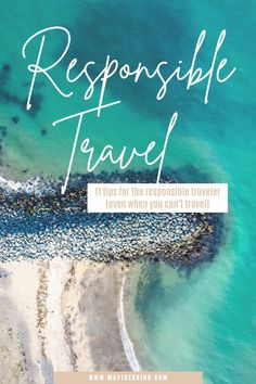 Over-tourism is a serious issue that travelers need to be aware of. If you are wondering how to be a responsible tourist, here are 11 ways to apply responsible travel principles to your life, even if you are traveling locally or can't travel at all. Even one small change towards being a responsible traveler will help. If you're goal is to travel responsibly, check out these responsible tourism tips. Learn how to be a better traveler through responsible travel tips that you can implement! Packing Tips For Travel, Travel Hacks, Travel Essentials, Travel Ideas, Travel Photos, Responsible Travel, Sustainable Tourism, Travel Abroad, Summer Travel