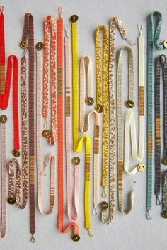 Woven Beaded Bracelets   Purl Soho