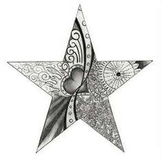 Star Tattoo Design by Pipenagos on DeviantArt Small Star Tattoos, Small Tats, Love Tattoos, Body Art Tattoos, Heart Tattoos, Family Tattoos, Girl Tattoos, Tatoos, Star Tattoo Designs